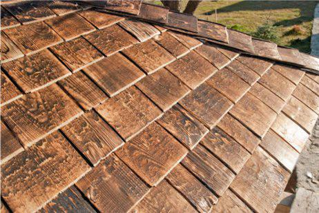 Querc Gont Drewniany Dachy Pokrycia Dachowe